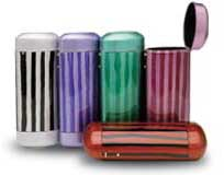 Candy stripe optical cases