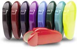 Flipper optical cases